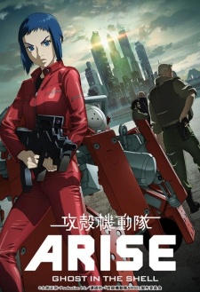 Ghost in the Shell: Arise – Border:2 Ghost Whispers (Dub)