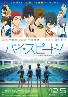 High☆Speed!: Free! Starting Days (Dub)