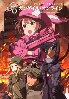 Sword Art Online Alternative – Gun Gale Online (Dub)