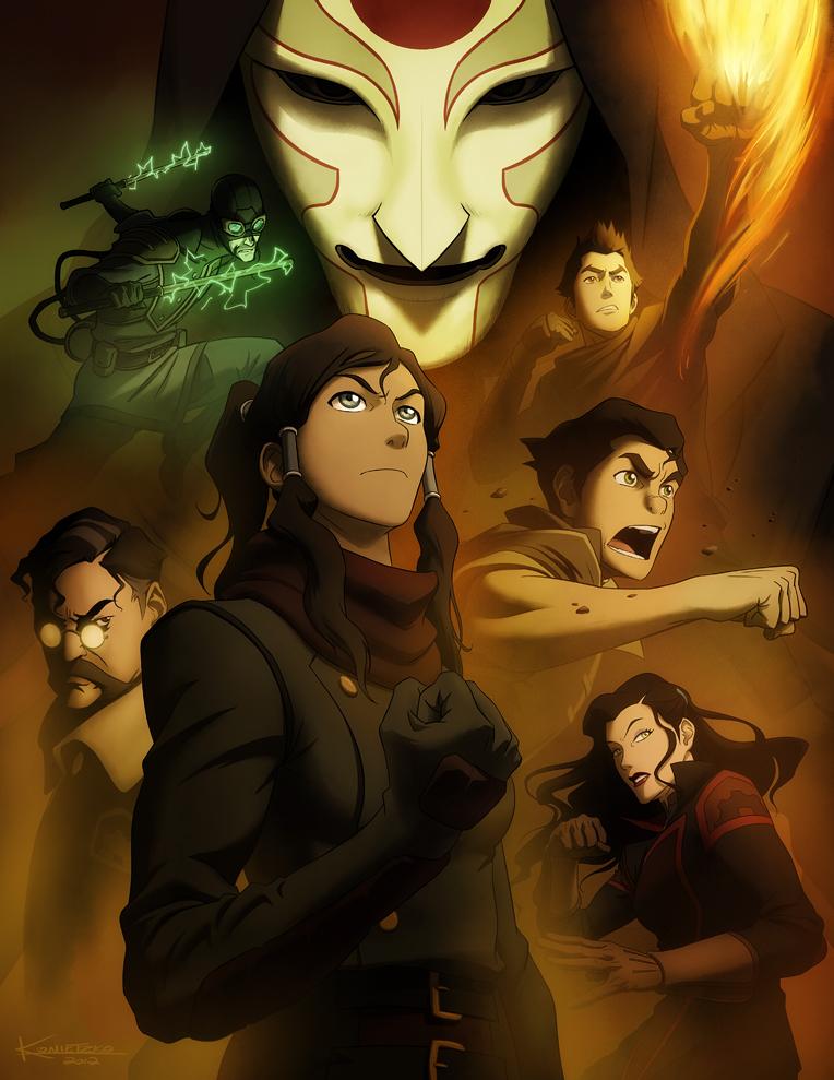 Avatar: The Legend of Korra Book 2: Spirit(DUB)BT1080PBluRay