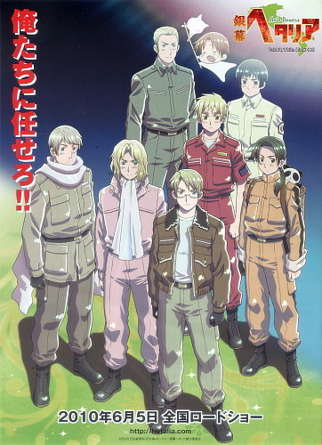 Hetalia: Axis Powers – Paint It, White!