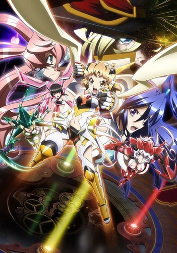 Senki Zesshou Symphogear GX: Believe in Justice and Hold a Determination to Fist.